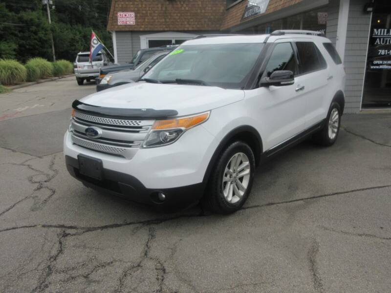 2013 Ford Explorer for sale at Millbrook Auto Sales in Duxbury MA