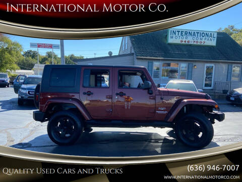 2007 Jeep Wrangler Unlimited for sale at International Motor Co. in Saint Charles MO