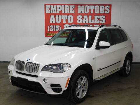 2013 BMW X5 for sale at EMPIRE MOTORS AUTO SALES in Philadelphia PA
