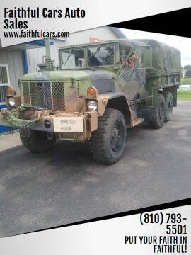 1972 AM GENERAL CORP. F35-A3 REFURBISHED IN 1974 for sale at Faithful Cars Auto Sales in North Branch MI