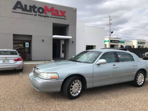 2007 Lincoln Town Car for sale at AutoMax of Memphis in Memphis TN