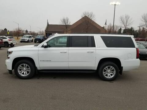 2018 Chevrolet Suburban for sale at ROSSTEN AUTO SALES in Grand Forks ND