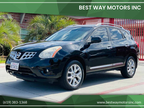 2012 Nissan Rogue for sale at BEST WAY MOTORS INC in San Diego CA