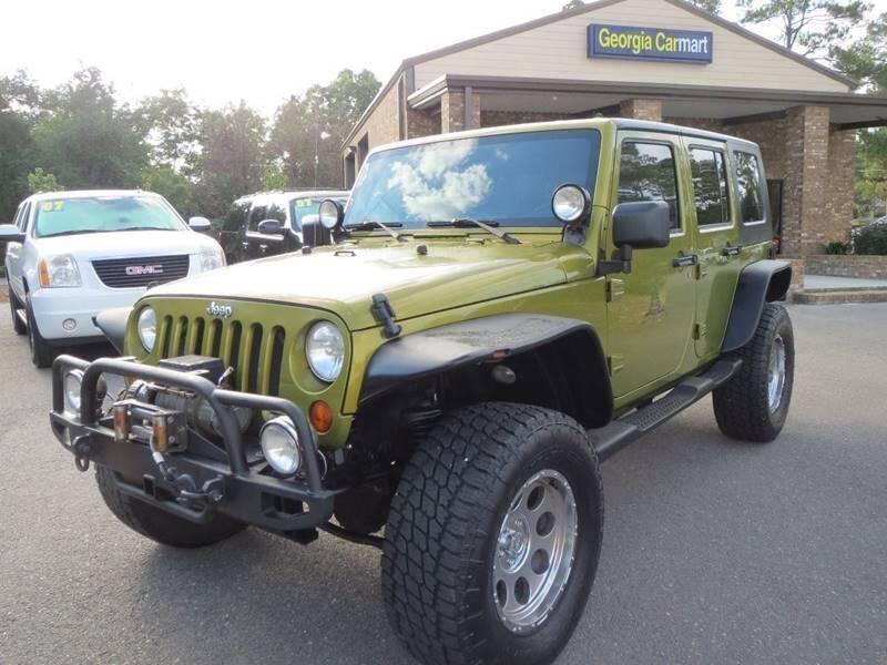 2007 Jeep Wrangler Unlimited for sale at Georgia Carmart in Douglas GA