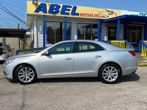 2014 Chevrolet Malibu for sale at Abel Motors, Inc. in Conroe TX