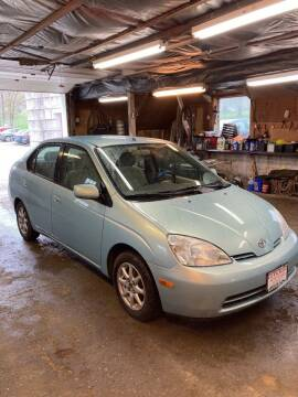 2002 Toyota Prius for sale at Lavictoire Auto Sales in West Rutland VT