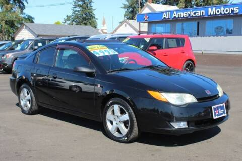 2006 Saturn Ion for sale at All American Motors in Tacoma WA