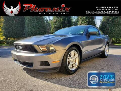 2011 Ford Mustang for sale at Phoenix Motors Inc in Raleigh NC