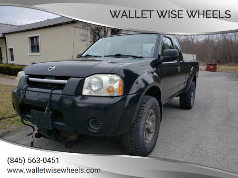 2003 Nissan Frontier for sale at Wallet Wise Wheels in Montgomery NY