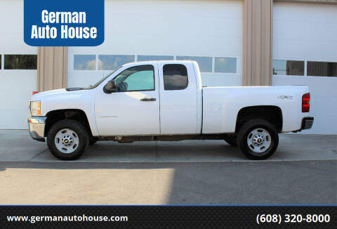 2013 Chevrolet Silverado 2500HD for sale at German Auto House in Fitchburg WI