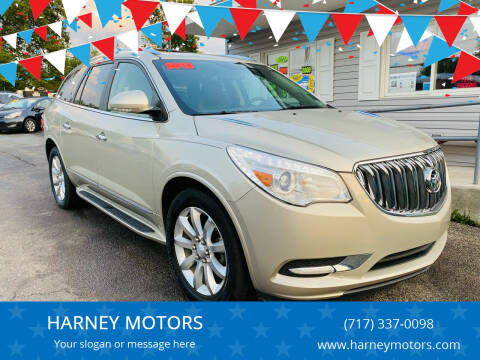 2013 Buick Enclave for sale at HARNEY MOTORS in Gettysburg PA