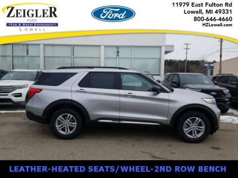 2021 Ford Explorer for sale at Zeigler Ford of Plainwell- Jeff Bishop in Plainwell MI