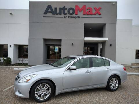 2013 Infiniti G37 Sedan for sale at AutoMax of Memphis - Darrell James in Memphis TN