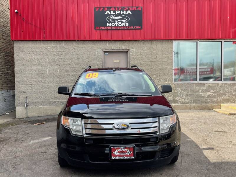 2009 Ford Edge for sale at Alpha Motors in Chicago IL