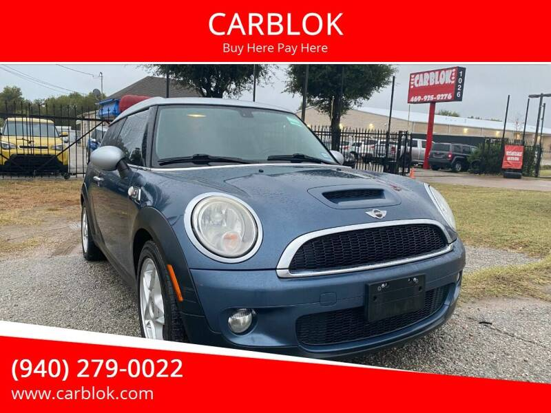 2009 MINI Cooper Clubman for sale at CARBLOK in Lewisville TX