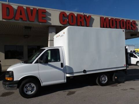 2013 Chevrolet Express Cutaway for sale at DAVE CORY MOTORS in Houston TX