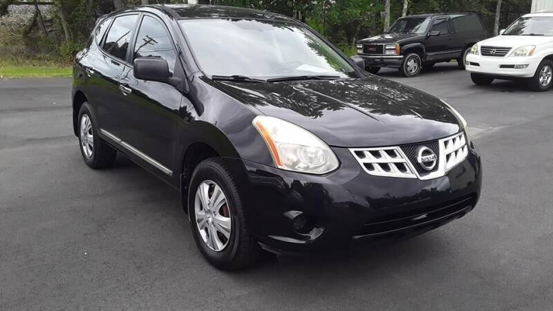 2011 Nissan Rogue for sale at BEST BUY AUTO SALES in Thomasville NC