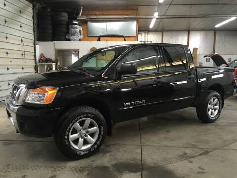 2011 Nissan Titan for sale at T James Motorsports in Gibsonia PA