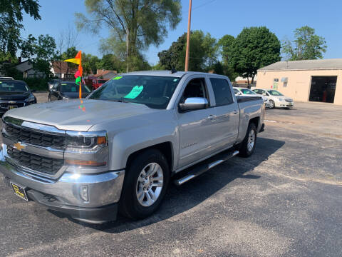 2016 Chevrolet Silverado 1500 for sale at PAPERLAND MOTORS - Fresh Inventory in Green Bay WI