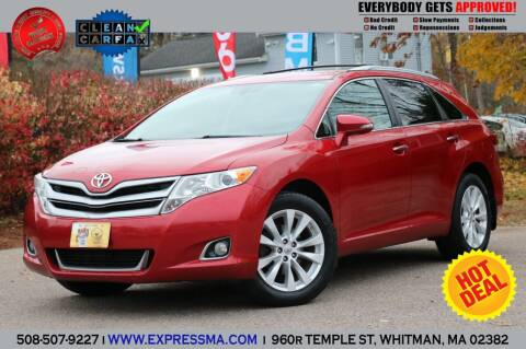 2013 Toyota Venza for sale at Auto Sales Express in Whitman MA