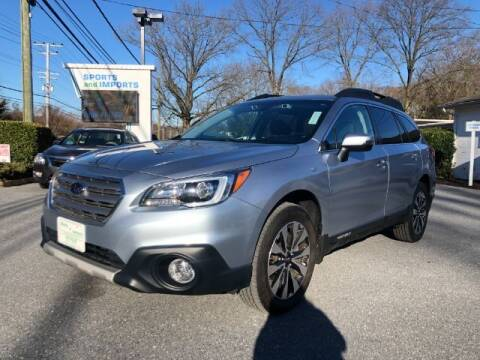 2017 Subaru Outback for sale at Sports & Imports in Pasadena MD