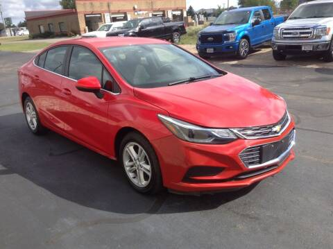 2016 Chevrolet Cruze for sale at Bruns & Sons Auto in Plover WI