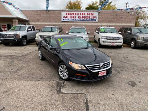 2011 Volkswagen CC for sale at Brothers Auto Group in Youngstown OH