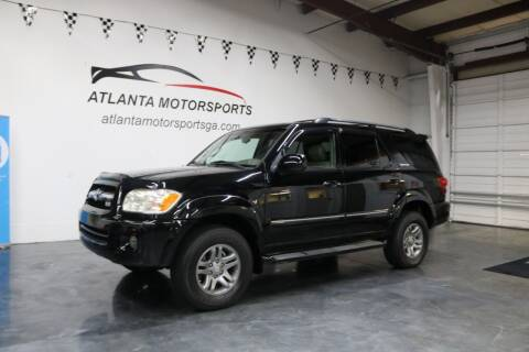 2005 Toyota Sequoia for sale at Atlanta Motorsports in Roswell GA