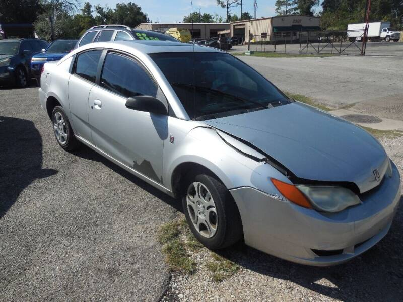 2004 Saturn Ion for sale at SCOTT HARRISON MOTOR CO in Houston TX