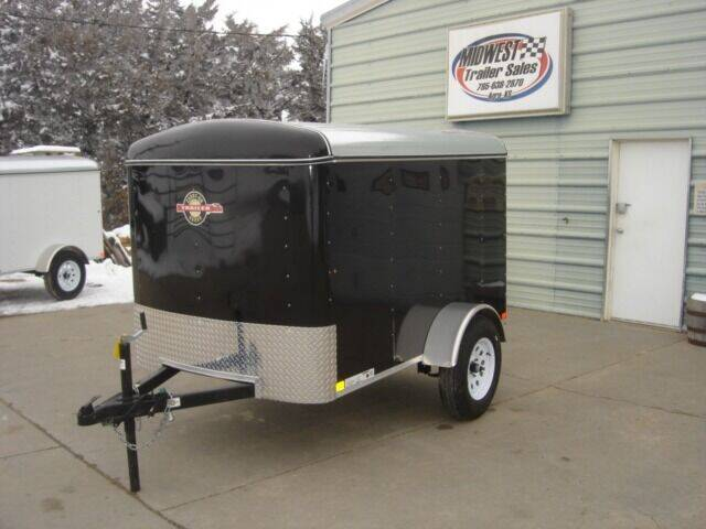 2021 CARRY ON 5 X 8 ENCLOSED for sale at Midwest Trailer Sales & Service in Agra KS