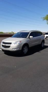2012 Chevrolet Traverse for sale at Sooner Automotive Sales & Service LLC in Peoria AZ