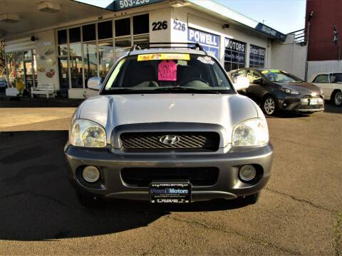 2001 Hyundai Santa Fe for sale at Powell Motors Inc in Portland OR
