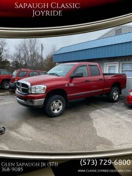 2007 Dodge Ram Pickup 2500 for sale at Sapaugh Classic Joyride in Salem MO