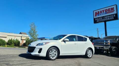 2013 Mazda MAZDA3 for sale at Hayden Cars in Coeur D Alene ID