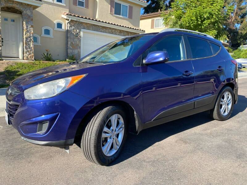 2011 Hyundai Tucson for sale at CALIFORNIA AUTO GROUP in San Diego CA