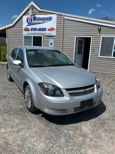 2010 Chevrolet Cobalt for sale at ROUTE 11 MOTOR SPORTS in Central Square NY
