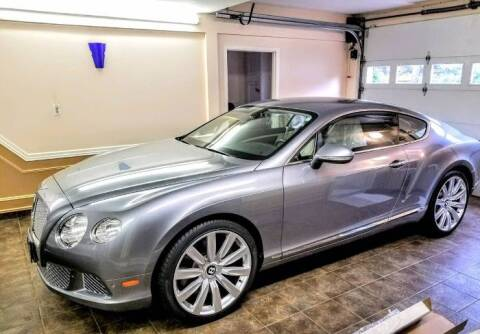2012 Bentley Continental for sale at Classic Car Deals in Cadillac MI
