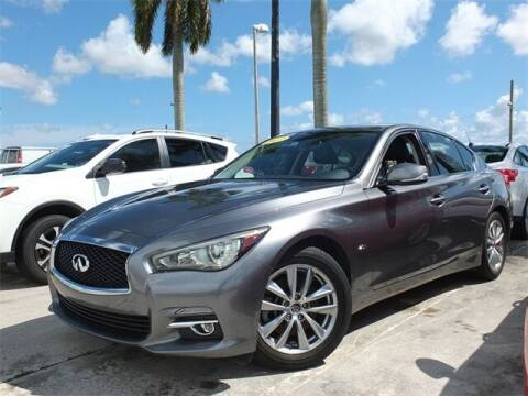 2017 Infiniti Q50 for sale at Automotive Credit Union Services in West Palm Beach FL
