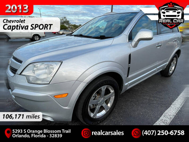 2013 Chevrolet Captiva Sport for sale at Real Car Sales in Orlando FL