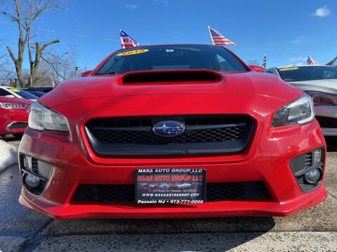 2015 Subaru WRX for sale at Nasa Auto Group LLC in Passaic NJ