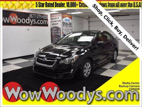 2015 Subaru Impreza for sale at WOODY'S AUTOMOTIVE GROUP in Chillicothe MO