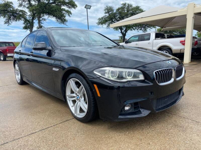 2014 BMW 5 Series for sale at Thornhill Motor Company in Hudson Oaks, TX
