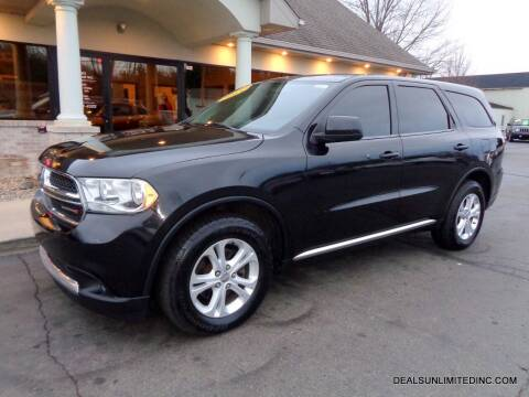 2013 Dodge Durango for sale at DEALS UNLIMITED INC in Portage MI