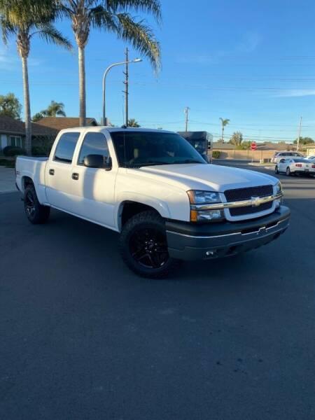 2004 Chevrolet Silverado 1500 for sale at SoCal Motors in Los Alamitos CA