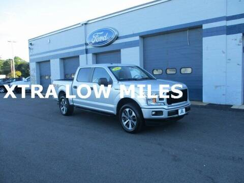 2019 Ford F-150 for sale at MC FARLAND FORD in Exeter NH