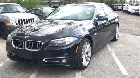 2014 BMW 5 Series for sale at Official Auto Sales in Plaistow NH