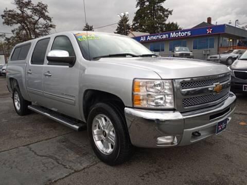 2013 Chevrolet Silverado 1500 for sale at All American Motors in Tacoma WA