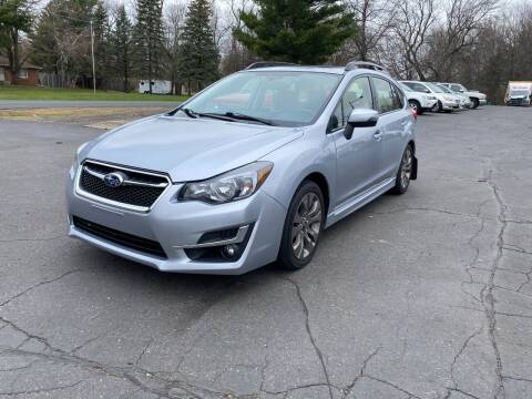 2016 Subaru Impreza for sale at Northstar Auto Sales LLC in Ham Lake MN