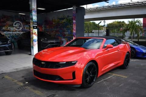 2019 Chevrolet Camaro for sale at STS Automotive - Miami, FL in Miami FL