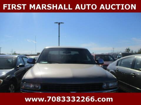 2002 Chevrolet Silverado 1500 for sale at First Marshall Auto Auction in Harvey IL